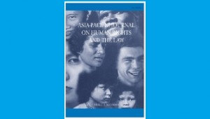 Asia-Pacific Journal on Human Rights and the Law