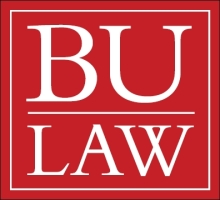 Boston University Law logo