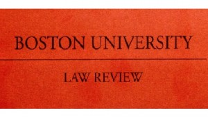 Boston University Law Review