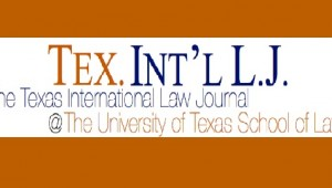 Texas International Law Journal
