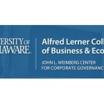 John L. Weinberg Center for Corporate Governance, Alfred Lerner College of Business & Economics, University of Delaware
