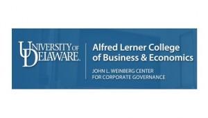 John L. Weinberg Center for Corporate Governance, Alfred Lerner College of Business & Economics, University of Delaware