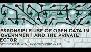 Responsible Use of Open Data in Government and the Private Sector