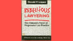 Rebellious Lawyering book cover