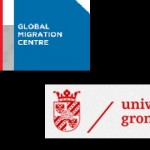logos from Global Migration Centre (Graduate Research Inst Geneva)and University Groningen