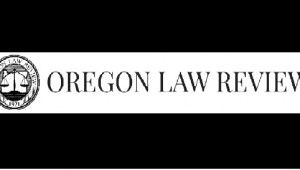 Oregon Law Review