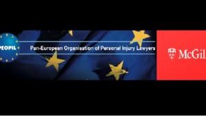 PEOPIL (Pan-European Organisation of Personal Injury Lawyers) & McGill University