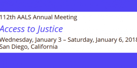 AALS Annual Meeting 2018