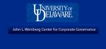 Weinberg Center for Corporate Governance