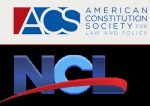 logos for American Constitution Society and National Consumers League