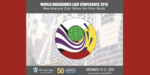 world indigenous law conference 2018