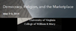 Democracy, Religion, and the Marketplace logo