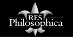 Logo for Res Philosophica