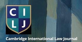CFP: Cambridge International Law Journal